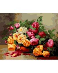 """Картины по номерам """"Красивый букет"""", 40x50 см"""