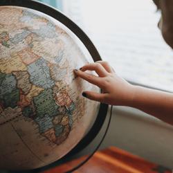Географическое путешествие. Всестороннее развитие ребенка