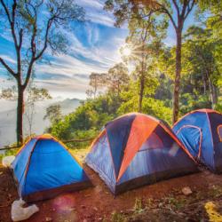 Снаряжение для пикника и кемпинга: выбираем палатку