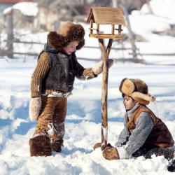 Зимнее волшебство: творчество для всей семьи