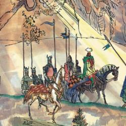 Без страха и упрека: книги о рыцарях