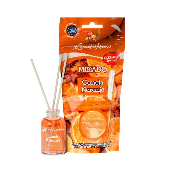 """Aromatic diffuser Mikado La Casa De Los Aromas """"Cinnamon & Orange""""   30ml"""