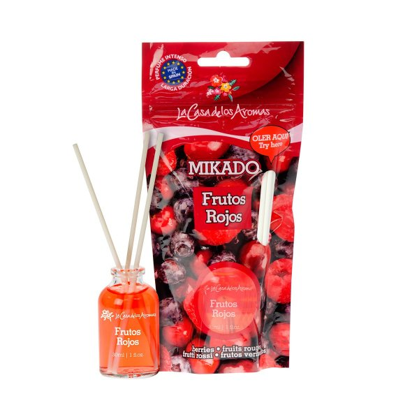 Red Fruits Mikado Doypack 30ml