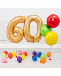 60-ЛЕТНИЙ ЮБИЛЕЙ ЗОЛОТОЙ И РАДУЖНЫЙ МИНИ-ПАКЕТ