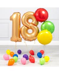 18-ЛЕТНИЙ ЮБИЛЕЙ ЗОЛОТОЙ И РАДУЖНЫЙ МИНИ-ПАКЕТ