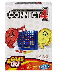 Hasbro Игра Connect 4 (Connect 4), формат путешествия