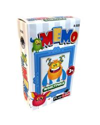 Карточная игра Мемо. Монстрики