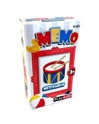 Карточная игра Мемо. Игрушки
