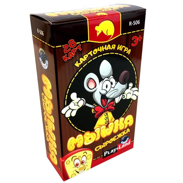 Карточная игра Мышка сыроежка