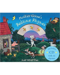Mother Goose's Bedtime Rhymes. Board book (+ CD-ROM)
