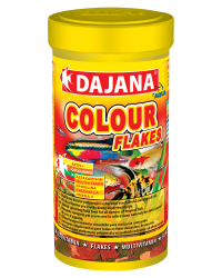 "Корм для рыб Dajana ""Colour"" (хлопья), 500 мл"