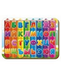 """Рамка-вкладыш """"Изучаем буквы и алфавит 3"""""""
