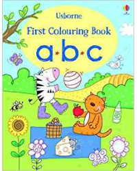First Colouring Book ABC