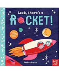 Look, There's a Rocket! Board book
