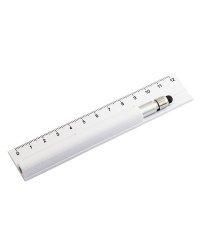 Ручка с линейкой N 2