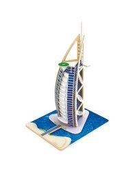 """3D пазл деревянный """"Отель Парус. Бурдж Аль Араб"""""""