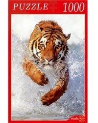 """Пазлы """"Бегущий тигр"""", 1000 элементов"""