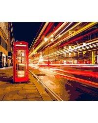 """Набор для рисования по номерам """"Ночной Лондон"""", 40x50 см"""
