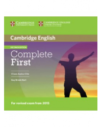 Audio CD. Complete First (2nd edition). Class Audio (количество CD дисков: 2)
