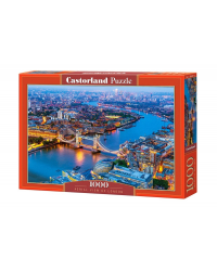 "Пазл Castorland ""Aerial view of London"", 1000 элементов"