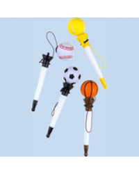 """Ручка шариковая """"Мячики"""", 0,7 мм, синие чернила"""