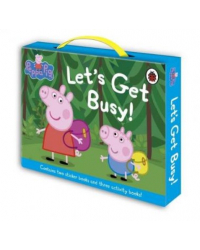 Peppa Pig: Let's Get Busy. 5-book. Carry Case (количество томов: 5)