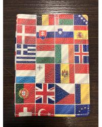 Обложка для паспорта  «ФЛАГИ»
