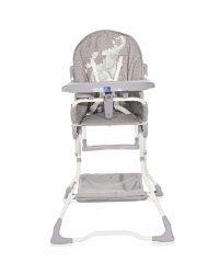 Lorell Bonbon Art.10100312140 Серый Fun стульчик для кормления