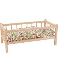 Goki VGRA107 кроватка для кукол
