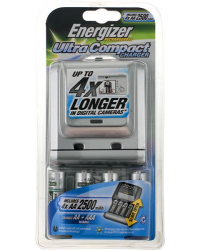 Аккумуляторные батареи Energizer Compact + 4AA