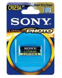 Батареи Sony CR123A-B1 / 3V (фото / литий)