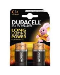 Батареи Duracell Plus C-B2 / LR14 (Blist., 2 ГБ)