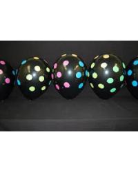 Воздушные шары с черными точками 6GB