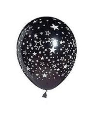 Черные шары со звездами 6GB