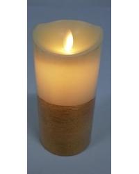 Светодиодная свеча 15см с золотым предложением -30%