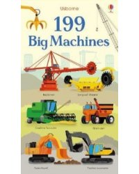 199 Big Machines. Board book