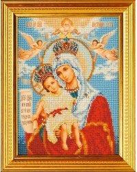 """Набор для вышивания бисером """"Богородица Милующая"""""""
