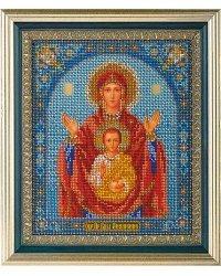 """Набор для вышивания икон из бисера """"Знамение"""""""