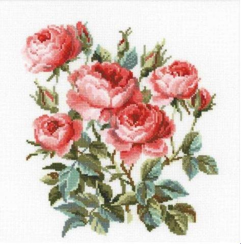 """Набор для вышивания """"Садовые розы"""""""
