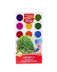 Акварель Artberry, с УФ защитой яркости, 18 цветов