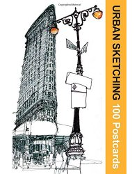 Urban Sketching. 100 Postcards. 100 Beautiful Location Sketches from Around the World