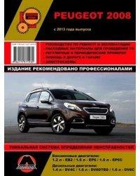 Peugeot 2008. С 2013 года. Ремонт. Эксплуатация