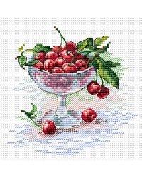"""Набор для вышивания крестом """"Вишневое удовольствие"""", арт. М-094"""