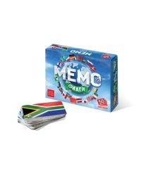 """Настольно-печатная игра """"Мемо. Флаги"""" (50 карточек)"""