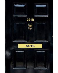 Стильный блокнот для поклонников великого сыщика. Шерлок. 221b Note