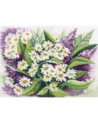 """Набор для вышивания Panna """"Полевые цветы"""", арт. Ц-1428, 30,5х21,5 см"""