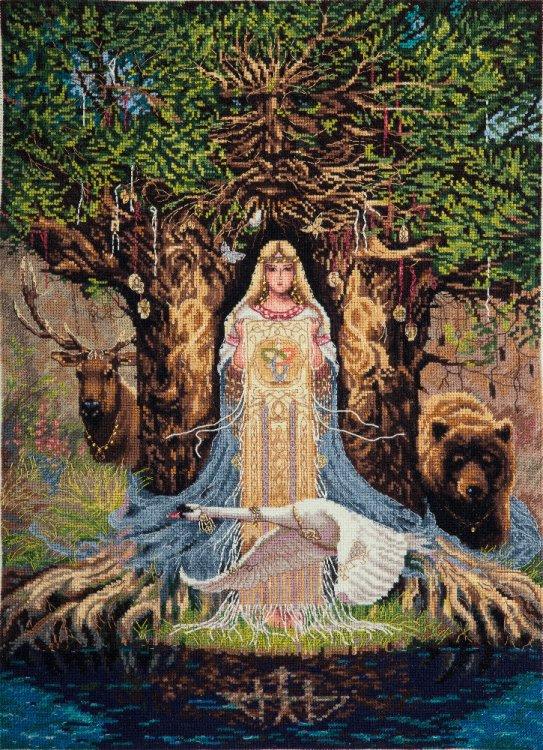 "Набор для вышивания Panna ""Оберег Веда"", арт. СО-1896, 31,5х43 см"