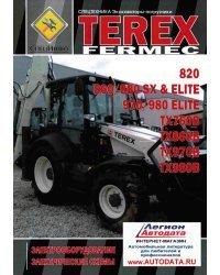 TEREX FERMEC 820, 860/880 SX ELITE, 970/980 ELITE, TX760B, TX860B, TX970B, TX980B. Электрооборудование и электрические схемы. Том 2