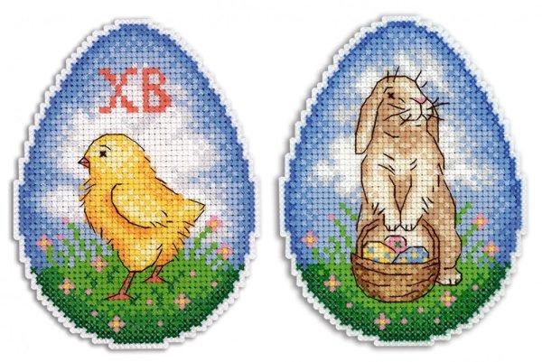"""Набор для вышивания крестом на пластиковой канве Жар-Птица """"Воскресное утро"""", 8х11 см, арт. Р-261"""