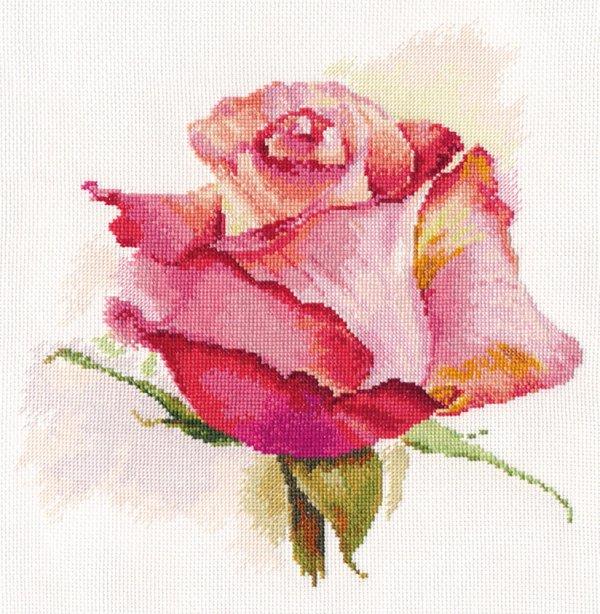 """Набор для вышивания Алиса """"Дыхание розы. Очарование"""", №106 (24х24 см)"""